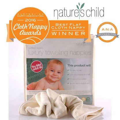 Luxury Towelling Nappies