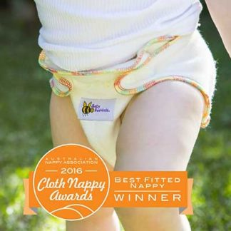Baby Beehinds Bamboo Fitted Nappy