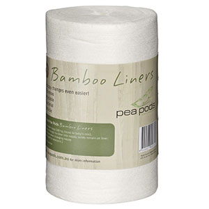 Pea Pods Bamboo Nappy Liners