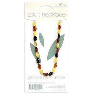 Amber Necklace for Adults
