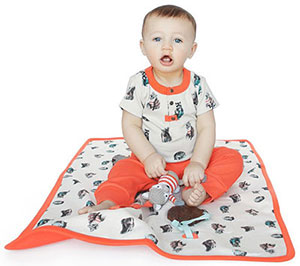 Finn + Emma Play Mat - Woodland