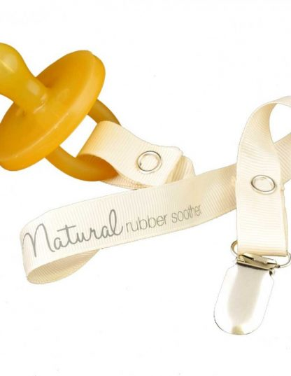 Natural Rubber Soother TWIN PACK SIZE 0-3 mths