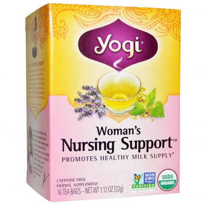 Yogi Womens Nursing Support Tea Bags