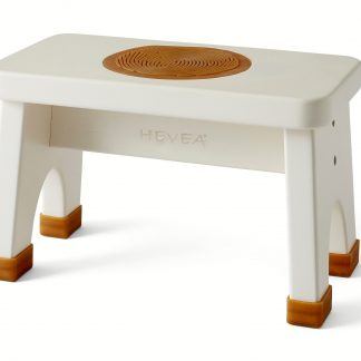 The HEVEA Rubberwood Stool