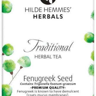 Hilde Hemmes Organic Fenugreek tea new packaging