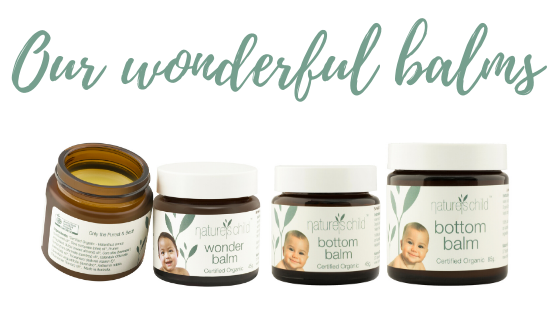 Nature's Child Bottom Balm and Wonder Balm